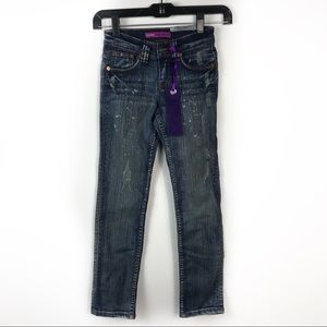 Other - Yaso Girl's Skinny Distressed NWT Jeans